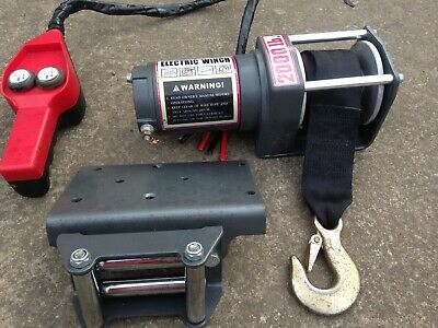 Electric Winch 2000lbs 12v