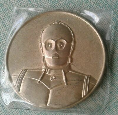 2005 California Lottery STAR WARS C-3PO COMMEMORATIVE Coin BRAND NEW