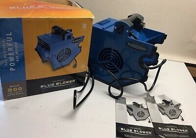 The Original Blue Blower Portable Industrial Fan Blower Air Mover Light Weight