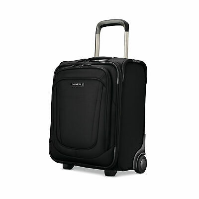 Samsonite Silhouette 16 Underseat Wheeled Carry-On Travel Bag Black USB Port