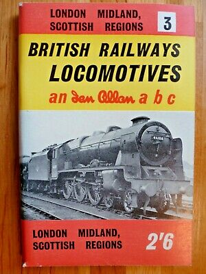 Ian Allan abc British Railways Locomotives London Midland Scottish Region 1961/2