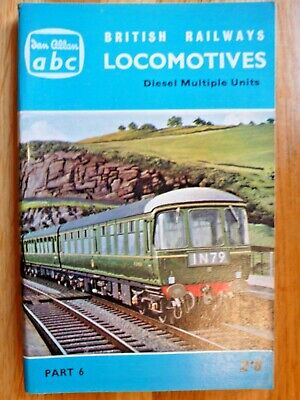 Ian Allan abc British Railways Locomotives Diesel Multiple Units Winter 1962