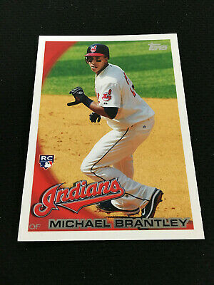 Michael Brantley Rookie Topps 2010 Houston Astros / Indians Rc Baseball Card