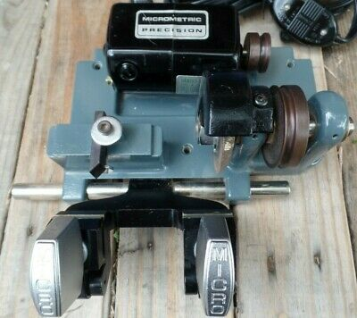 Vtg.MICROMETRIC PRECISION Micro Series Motor TYPE M-109 115V 5000 RPM-KEY CUTTER