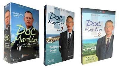Doc Martin Season 1-8 + Movies DVD Box Set TV Series Complete Collections New