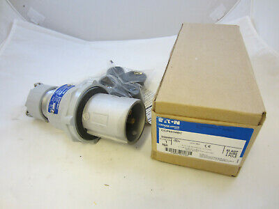 Crouse Hinds 60 Amp  3W 4P  Plug Ccp6034Bc Mates With Cdr6034  New