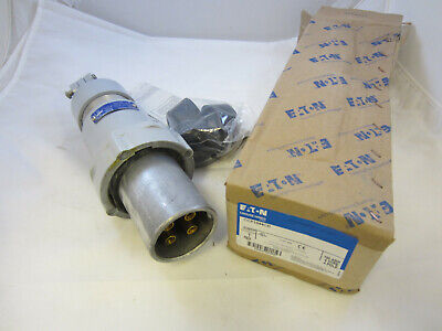 Crouse Hinds 100 Amp 4W 4P Plug Ccp1044Cd  New In Box Mates With Cdr1044