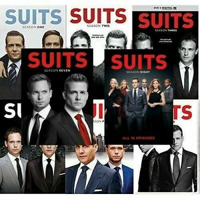 Suits Season 1-6 DVD Box Set TV Series Complete Collections 1,2,3,4,5,6 New