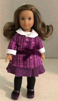 American Girl Mini Doll Rebecca Original Outfit and Shoes + an Adorable Dress