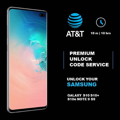 Cricket Spectrum Xfinity Premium Unlock Codes For Samsung Galaxy S10 S10+ Note 9