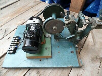 RARE Collectible ACME Model D Key Cutting Cutter Machine