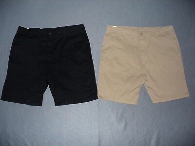 59e000be68 NWT Big + Tall Mens Wrangler Flat Front Relaxed Fit Shorts - U Pick Color +