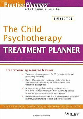 The Child Psychotherapy Treatment Planner  [P‏DF EP‏UB]