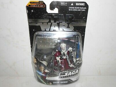Star Wars Episode III ROTS The Saga Collection GENERAL GRIEVOUS w. Silver Stand
