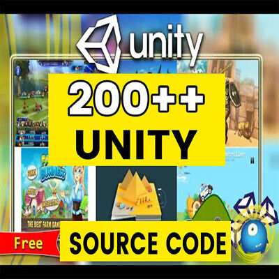 + 200 CODES Source Unity 3D And 2D Games
