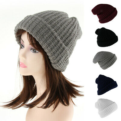 4a528f7a8 BEANIE HAT FOR Men and Women Skull Cap Fall Winter Warm Fashion Knit ...