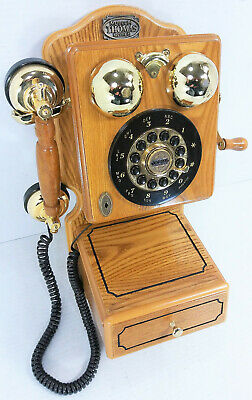 Replica 1927 Country Wall Phone Thomas Collector's Edition Museum Model Nice!