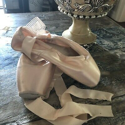 Gaynor Minden Pointe Shoes 6W Brand New