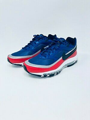 8f66a4b56f NIKE AIR MAX 97 / BW AO2406-400 Deep Royal Blue Red Men's Sneakers ...