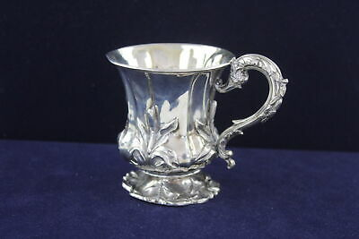 Antique Hallmarked 1830 London STERLING SILVER Christening Cup (139g)