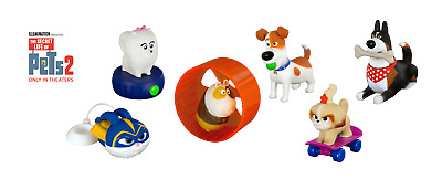 2019 McDONALD'S THE SECRET LIFE OF PETS 2 HAPPY MEAL TOYS! PICK YOUR FAVORITES!