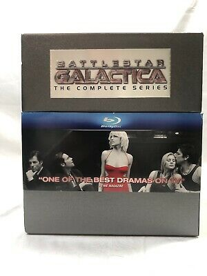 Battlestar Galactica: The Complete Series (Blu-ray Disc,20-Disc Set, Limited Ed)