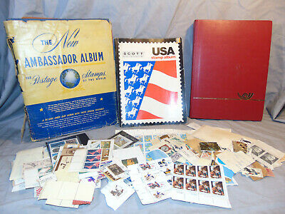 Postage Stamp Collection Books & Loose Hundreds or More WW2 & Beyond Global
