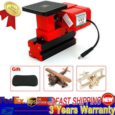 US Mini Tool Jig-Saw Drilling Sawing Mechine Woodworking Lathe Milling DIY Tool