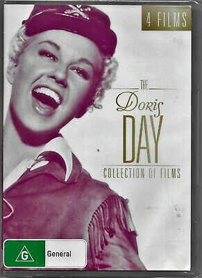 The Doris Day Collection Of Films (DVD, 2017, 4-Disc Set)New Region 4 Free Post