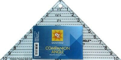 Ez Simpilcity Companion Triangle Angle  Acrylic Template - Patchwork Quilting