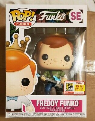 SDCC FREDDY FUNKO as The Devil Black and Red Set Cuphead POP