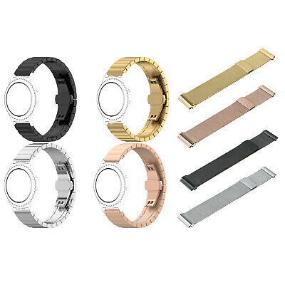 Stainless Steel Magnetic Bracelet Strap Wristband Band For Huami Amazfit Bip BC