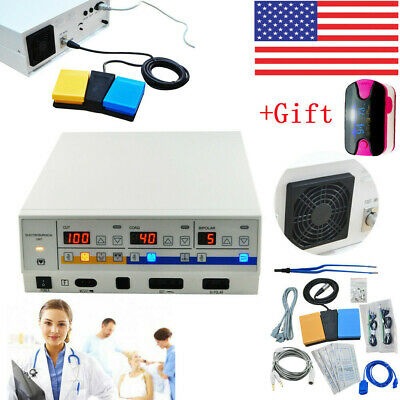 Electrosurgical Unit diathermy machine Smooth Cut electrocautery Forceps +Gift