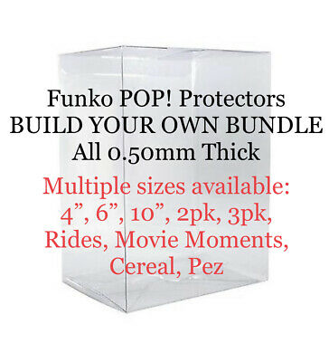 Funko POP! Protectors Collector's Pack - Built Your Own Bundle ALL 0.50mm Thick!