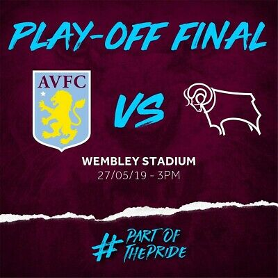 Aston Villa V Derby County Skybet Championship Play Off Final 27Th May 2018...