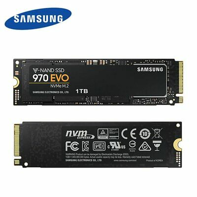 SAMSUNG 970 EVO M.2 Internal Solid State Drive SSD Hard Disk Smart Turbo Write