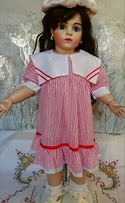 Doll dress Vintage Style for large doll