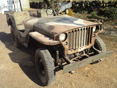 Willys MB Jeep 1945 for restoration