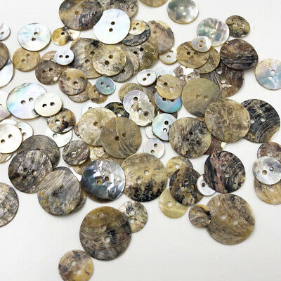 50pcs Natural Shell Sewing Buttons Color Japan Mother of Pearl MOP Square PT294