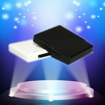Bluetooth v2.0 Music Receiver Adapter for Pod Phone 30 Pin Speaker with 1 LED EW