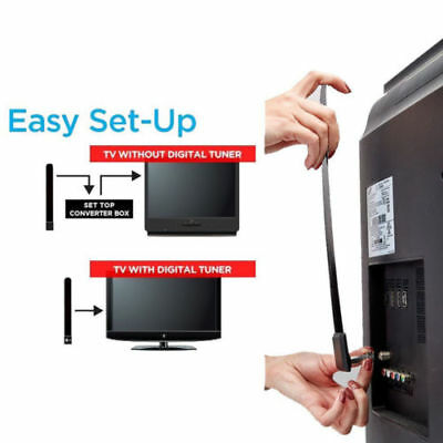 Clear TV Key HDTV FREE TV Digital Indoor Antenna 1080p Ditch Cable For Seen TV