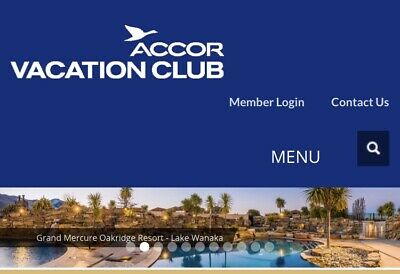 Accor Vacation Club (APVC) Silver Membership with 1,716 Points & 3000 on 1 June