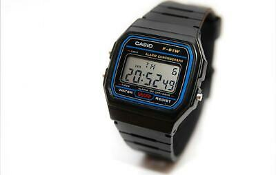 Casio F-91 Rubber Band Classic Digital Watch Retro Vintage Melbourne