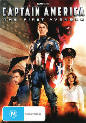 Captain America: The First Avenger  - DVD - NEW Region 4