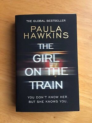 The Girl On The Train By Paula Hawkins Paperback Book Very Good Condition_______