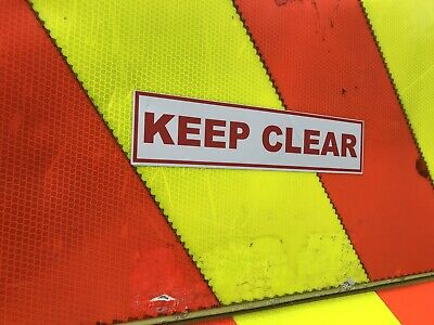 Sticker 245mm MOUNTAIN RESCUE On Call Sign Car Van Emergency Response ST24532
