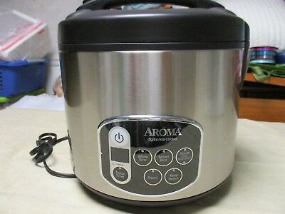 Aroma 10 Cup Digital Rice Cooker New