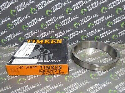 NEW Timken 672B Tapered Roller Bearing Cup