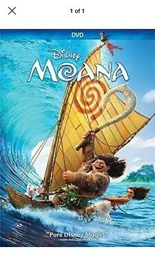 Moana (DVD, 2017) Brand New. Free Shipping.