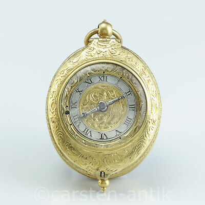 1620 Renaissance pendant watch with coat of arms of King Sigismund III of Poland